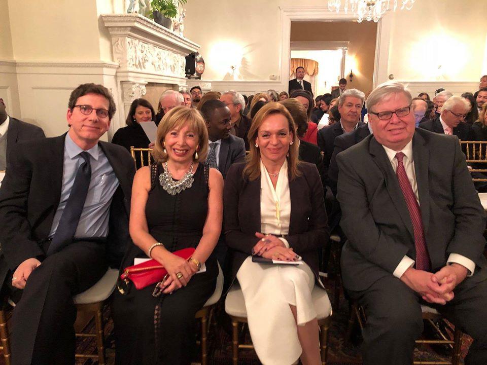 With Ambassador Carla Jazzar, Dean Ball, & Paul Chandler